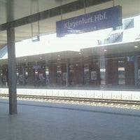 Photo taken at Klagenfurt Hauptbahnhof by Stefan on 6/21/2011