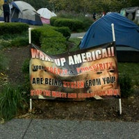 Photo taken at #OccupyPittsburgh by David L. on 10/22/2011
