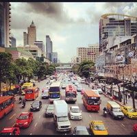 Photo taken at Ratchaprasong Intersection by Teh K. on 8/20/2012