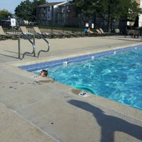 Photo taken at Colony Poolside by Danni G. on 8/23/2012