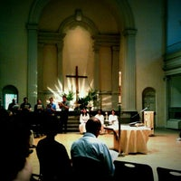 Photo taken at St. Mark's Church in the Bowery by Roger W. on 5/29/2011