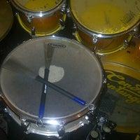 Photo taken at Drum Studio Alto Music School by Wani R. on 9/15/2011