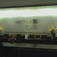 Photo taken at United Club - Terminal E by joel b. on 10/3/2011