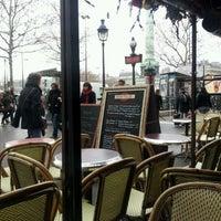 Photo taken at Café Bastille by jean-baptiste s. on 12/22/2011