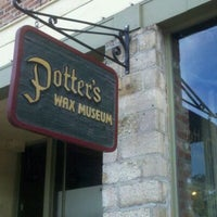Photo taken at Potter's Wax Museum by Scott M. on 1/12/2012