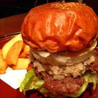 Photo taken at Burger × Burger by taq_n on 10/27/2011