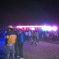 Photo taken at Fiesta Ritoque Beach by Clau C. on 1/15/2012