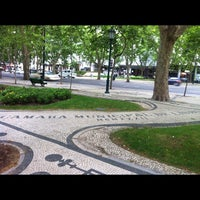 Photo taken at Avenida da Liberdade by Alexandra on 5/21/2012