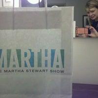 Photo taken at The Martha Stewart Show by Meg Allan C. on 3/5/2012