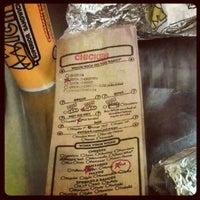 Photo taken at Which Wich? Superior Sandwiches by dana k. on 5/10/2012