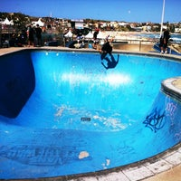 Photo taken at Bondi Skatepark by Julian C. on 12/31/2011