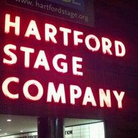 Photo taken at Hartford Stage by Tim G. on 12/23/2011