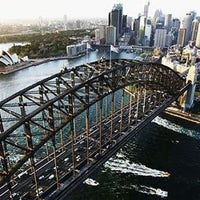 Photo taken at Sydney Harbour Bridge by Simon t. on 6/24/2012