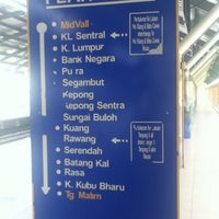 Photo taken at KTM Line - Mid Valley Station (KB01) by Jasmin M. on 6/30/2012