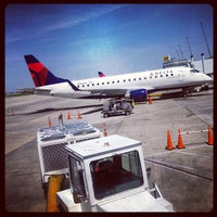 Photo taken at Concourse A by Dan B. on 4/19/2012