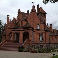 Photo taken at Jaunmoku pils by Eugene B. on 8/25/2012