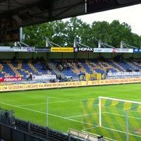 Photo taken at Mandemakers Stadion by Daniel v. on 5/10/2012