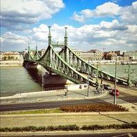 Photo taken at Liberty Bridge by Dávid T. on 4/5/2012