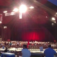 Photo taken at Miller Outdoor Theatre by Steven T. on 8/13/2012