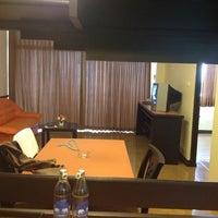 Photo taken at Sigma Resort Jomtien Pattaya by Yuradee Y. on 3/18/2012