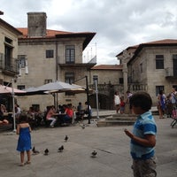 Photo taken at Praza da Leña by Marta on 8/19/2012