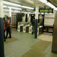 Photo taken at MTA Subway - Spring St (6) by 0zzzy on 4/13/2012