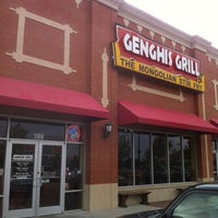 Photo taken at Genghis Grill by Rob H. on 4/15/2012