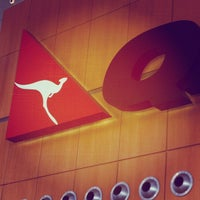 Photo taken at T3 Qantas Domestic Terminal by Stephanie T. on 5/3/2012