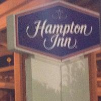 Photo taken at Hampton Inn Metairie by john s. on 9/3/2012