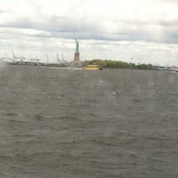 Photo taken at NY Waterway Ferry - Wall St/Pier 11 Terminal by Angela C. on 4/27/2012