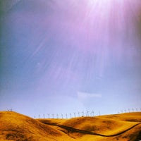 Photo taken at Altamont Pass by Sharon on 8/20/2012