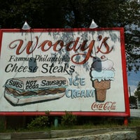 Photo taken at Woody's Famous CheeseSteaks by LaToya on 6/21/2012