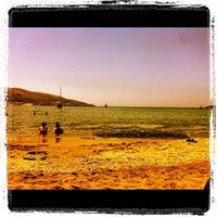 Photo taken at Porto Koundouros Beach by Giannis 😎 L. on 7/12/2012
