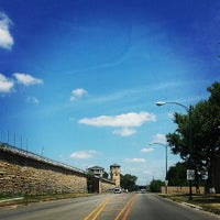 Photo taken at Old Joliet Prison by Morgan C. on 7/25/2013
