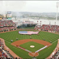 Photo taken at Great American Ball Park by Sports Illustrated on 7/20/2013