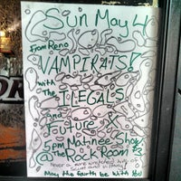 Photo taken at Rock Room by Vampirates on 5/4/2014