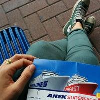 Photo taken at Ancona Ferries Terminal by Eleonora R. on 6/18/2014