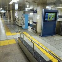 Photo taken at Nijubashimae Station (C10) by yoshi_rin on 6/23/2013