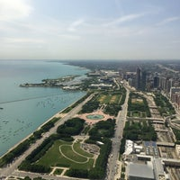 Photo taken at Aon Center by Cari on 6/13/2016