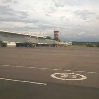 Photo taken at Aeropuerto Internacional Camilo Daza (CUC) by Beto S. on 5/30/2014
