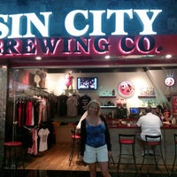Photo taken at Sin City Brewing Company by CynCity on 7/7/2013