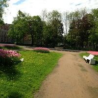 Photo taken at Площадь Жертв Революции by Света И. on 5/27/2013
