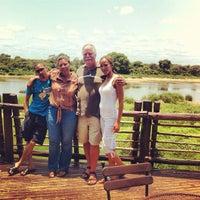 Photo taken at Lower Sabie Rest Camp, Kruger National Park by Michał G. on 11/19/2012