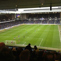 Photo taken at Ibrox Stadium by Anita B. on 3/9/2013