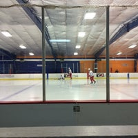 Photo taken at Raleigh Center Ice by Liz on 9/1/2015