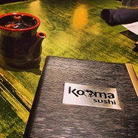 Photo taken at Kooma sushi Restaurant by Amy S. on 1/28/2014