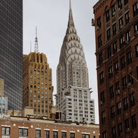 Photo taken at Chrysler Building by Jeffrey Z. on 3/29/2013