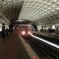 Photo taken at McPherson Square Metro Station by Robert D. on 10/21/2012