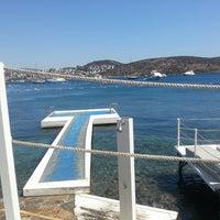 Photo taken at Doria Beach by Beld@ on 9/2/2013