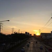 Photo taken at Chaeng Watthana Road by PARRn on 12/27/2016